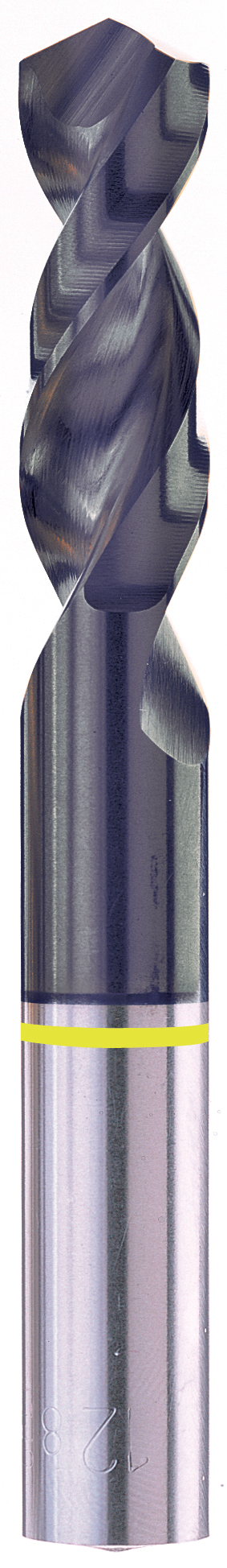 Sowa High Performance Size #47 x 38mm OAL HSCO 130º Parabolic Stub Drill