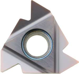 Kyocera 22 IRN60 GW15 Grade Uncoated Carbide, Indexable Threading Insert