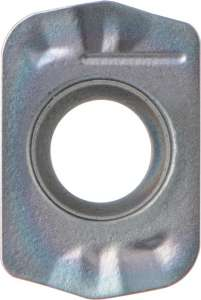 Kyocera LPGT 010210ERGM PR1535 Grade PVD Carbide, Rectangle, Positive Rake Angle, Right-Hand Milling Insert for Medium-Roughing in Heat-resistant Alloy and Stainless Steel