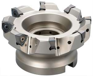 Kyocera MFWN 90080R7TM, M-SIX 80.00mm Cutting Diameter Face Mill (8835725)
