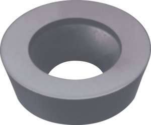 Kyocera RDHX 1003M0T PR1230 Grade PVD Carbide, Round, Positive Rake Angle, Milling Insert for Medium-Roughing in Steel and Stainless Steel