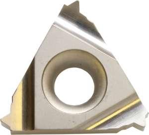 Kyocera TNN 32ER6002 TC60 Grade Uncoated Cermet, Indexable Threading Insert