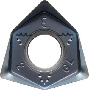 Kyocera WNEU 080608ENGL PR1535 Grade PVD Carbide, Trigon, Positive Rake Angle, Neutral Milling Insert for Medium-Roughing in Heat-resistant Alloy and Stainless Steel