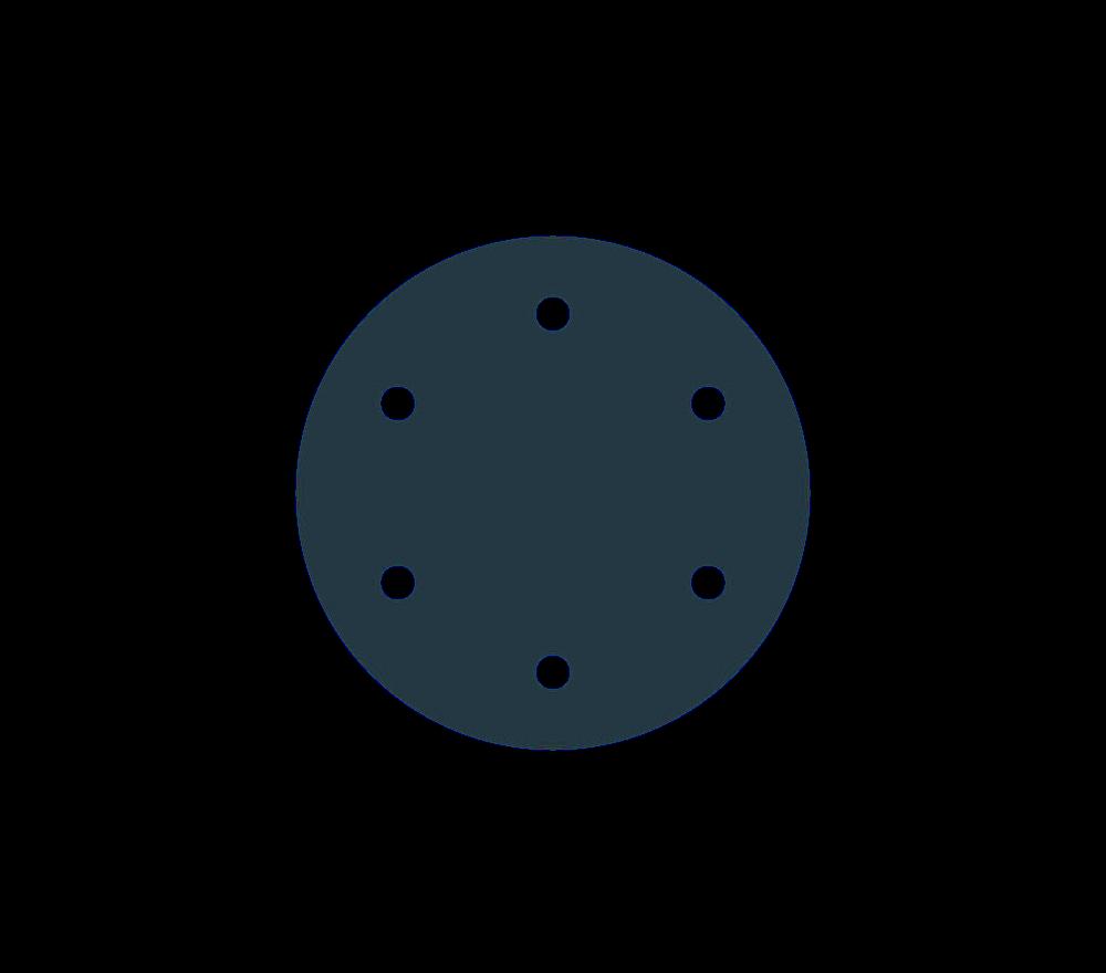 Acetal Copolymer Blind Flange