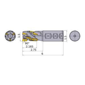 Mitsubishi-APX3KUR243FA24M21A18 1.5 End Mill (APX3KUR243FA24M21A18)