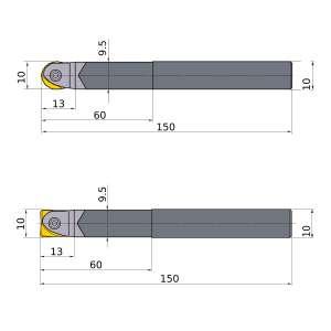 Mitsubishi-SRFH10S10LW 10mm End Mill (SRFH10S10LW)