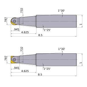 Mitsubishi-SRFU12S16L 0.787 End Mill (SRFU12S16L)