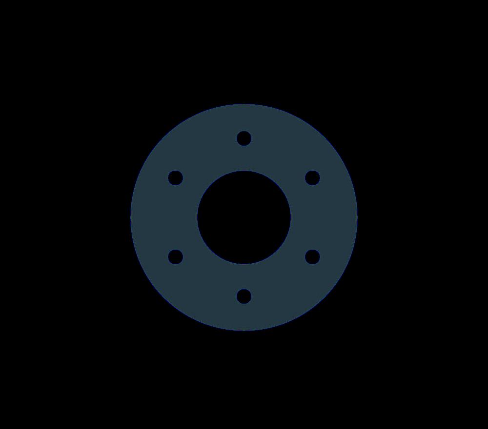 Acetal Copolymer Flange